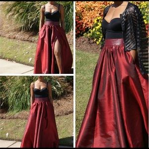 Dresses & Skirts - ZIP ME IN OR OUT MAXI SKIRT